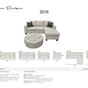2016 flip sofa