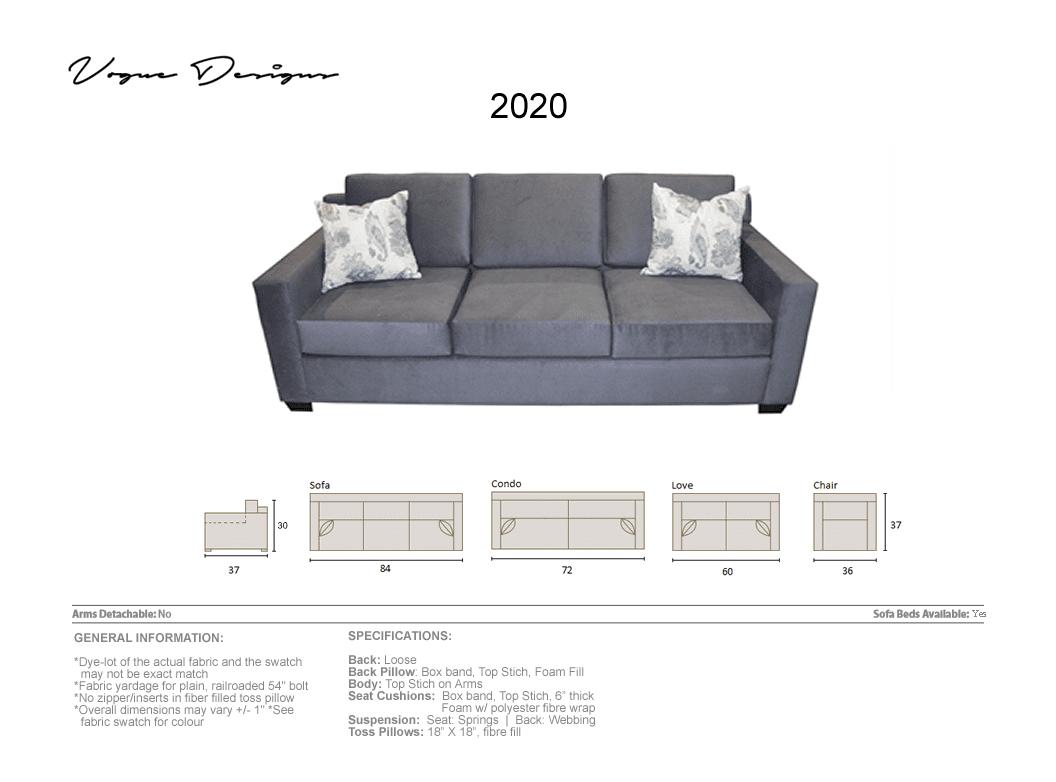 2020 Model Custom Made Sectional Sofa Condo Love