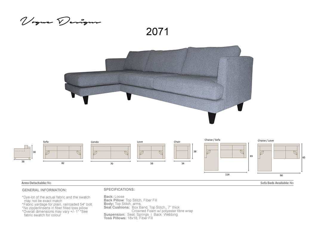 Cool 2071 Model Custom Made Sectional Sofa Condo Love Chair And A Half Chair Home Remodeling Inspirations Genioncuboardxyz