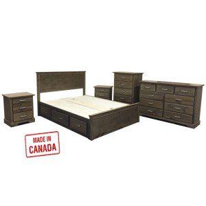 1600  CUSTOM MADE: Wooden bedroom furniture