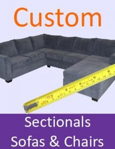 Custom sofas, chairs & sectionals