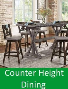 counter height dining
