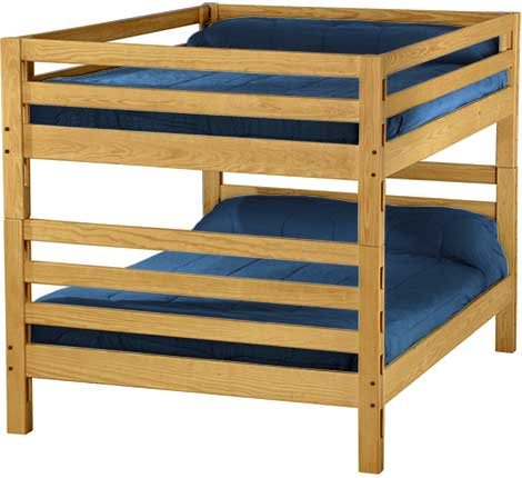 Queen Over Queen Ladder End Custom Bunk Beds L Furniture Kelowna