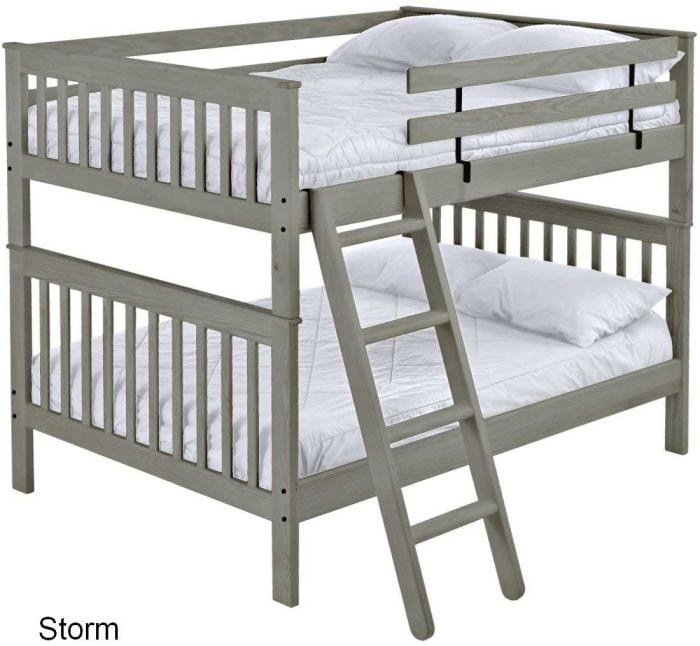 QUEEN OVER QUEEN-MISSION- Custom Bunk Beds - L Furniture Kelowna
