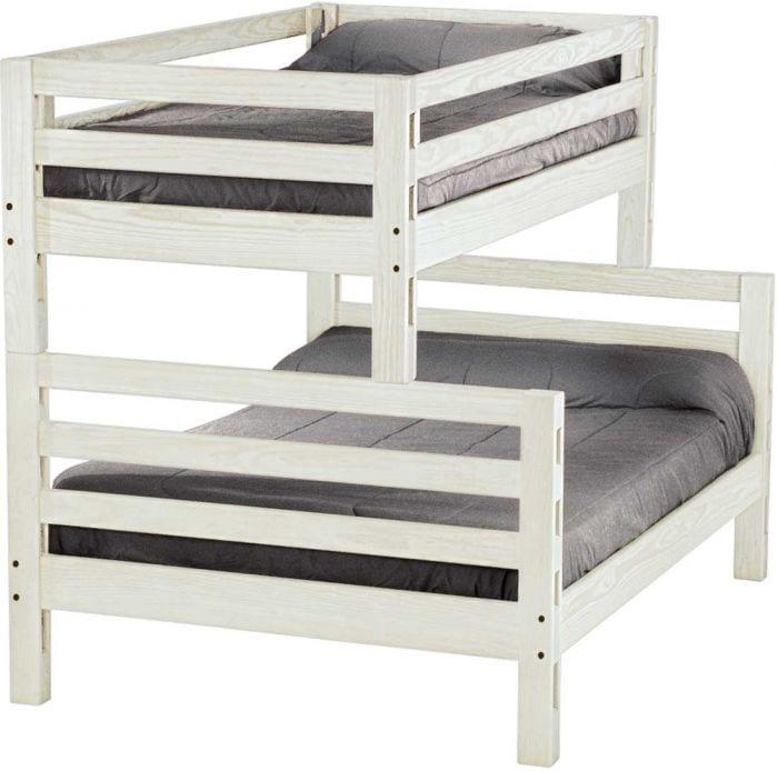 Twin Over Full Ladder End Custom Bunk Beds L Furniture
