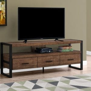Q028 TV STAND RECLAIMED WOOD