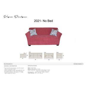 2021 no bed