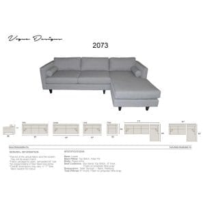 2073 sectional
