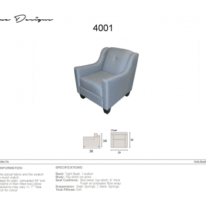 4001 Chair - Made in Canada