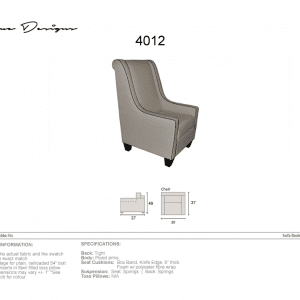 4012 chair made in Canada