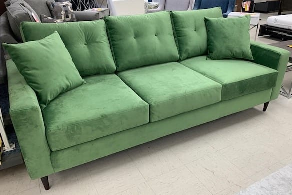 2113 Sofa with optional tufting - Hand made in Canada