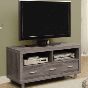 "Q030 48"" Taupe TV Stand"