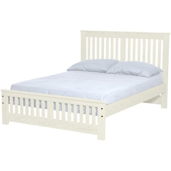 Hand made in Canada. Shaker style bed frame. Life time warranty