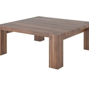 HEEL COFFEE TABLE - SOLID WALNUT