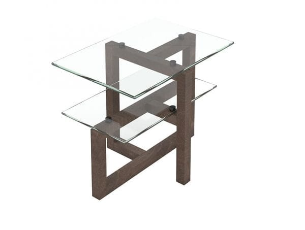 Tekno side tables. Hand made in Canada