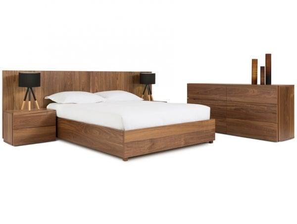 VERBOIS ORA BED - Hand made in Canada, supplied by L Furniture