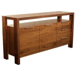 azur custom made buffet serve. Hand made in Canada in 100% solid wood