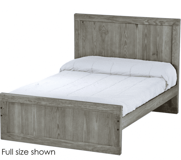 panel bed STORM 100% solid wood