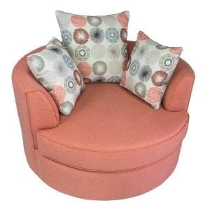 Round non swivel chair - Hand made in Canada
