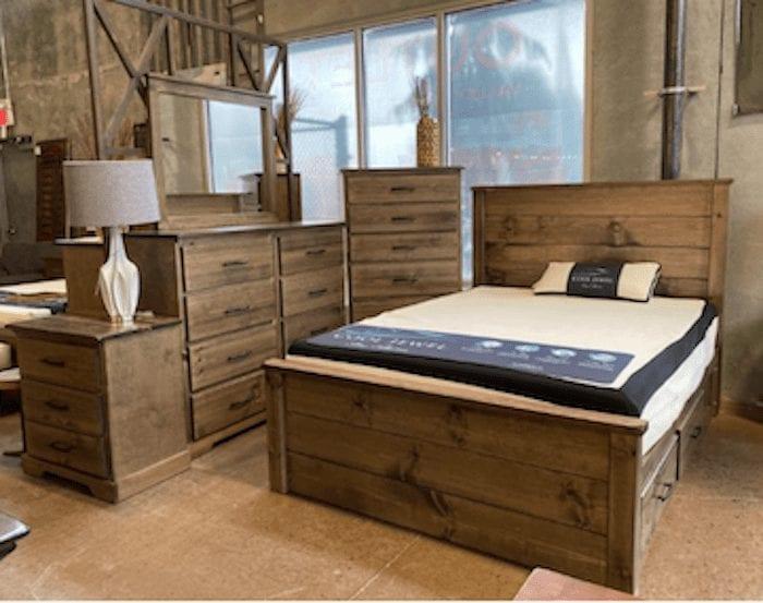 Whistler Custom Made Wooden Bedroom, Custom Made Bedroom Furniture Sydney