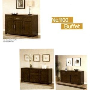 1100 solid maple buffets