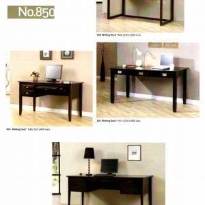 850 Solid maple desks