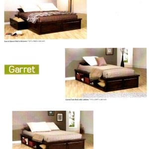 Garret platform bed